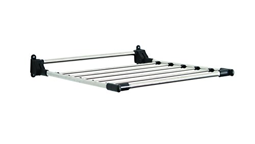 (GreenWay Stainless Steel Indoor Wall Mount Drying Rack,)