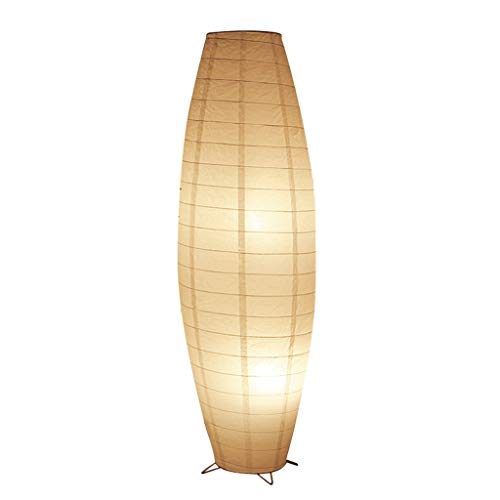 Lámparas de pie Iluminación de Interior Nordic Woven Paper ...