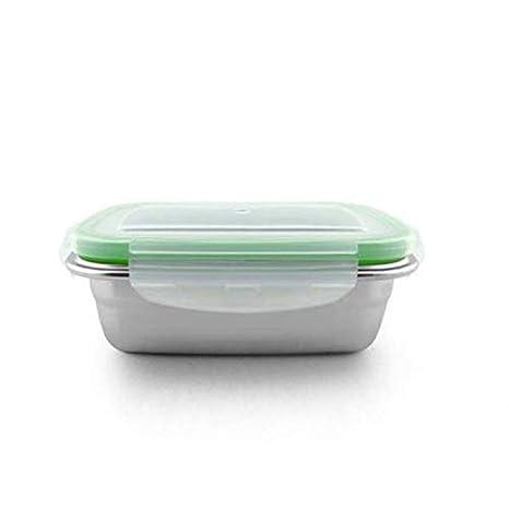 Amazon.com: Caja de almuerzo de acero inoxidable de grado ...