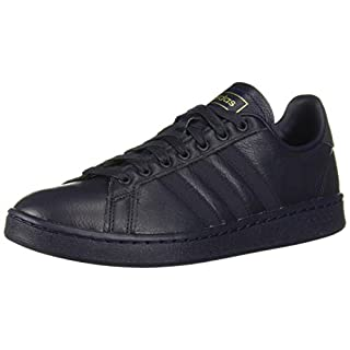 adidas Men's Grand Court Sneaker, Legend Ink/Matte Gold, 11 M US