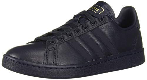 - adidas Men's Grand Court Sneaker, Legend Ink/Matte Gold, 14 M US