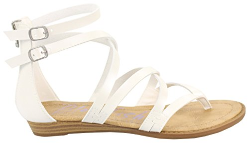 best prices for sale cheap best seller Blowfish Women's Bungalow Wedge Sandal White discount extremely discount 2014 newest factory outlet cheap online cH3z30Z