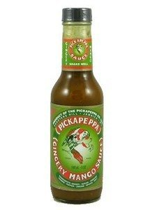 Pickapeppa Gingery Mango Hot Sauce 5oz (Pack of ()