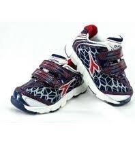 Diadora Nevada V I zapatos niño con Segmentos, blanco rojo, 24, Diadora