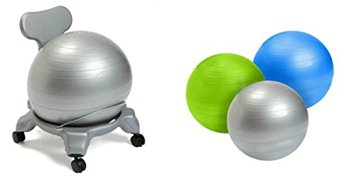 Aeromats Kids Ball Chair with Blue Ball