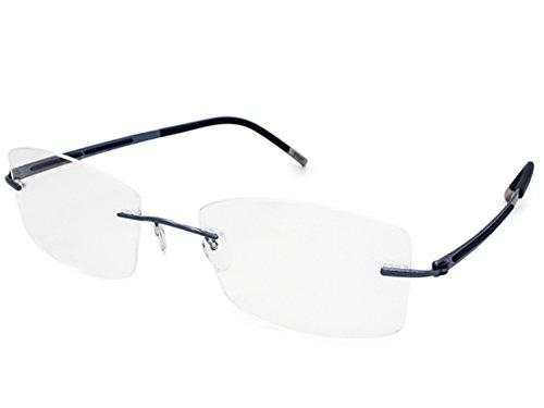 Silhouette Eyeglasses TITAN HARMONY 4368 4369 4370 (4370-6056 blue 50mm-18mm-140mm, one size)