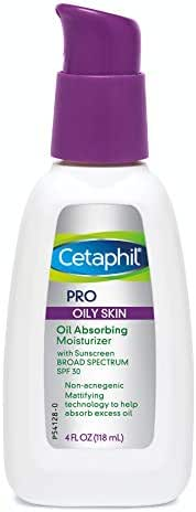 Cetaphil Cetaphil Pro Oil Absorbing Moisturizer With Spf 30 Broad Spectrum Sunscreen, 4 Ounce