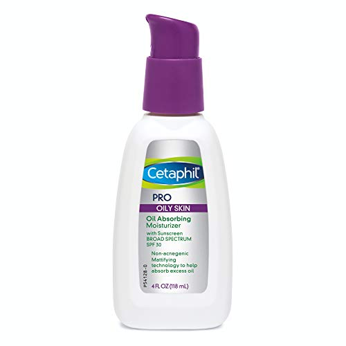 (Cetaphil Cetaphil Pro Oil Absorbing Moisturizer With Spf 30 Broad Spectrum Sunscreen, 4 Ounce)