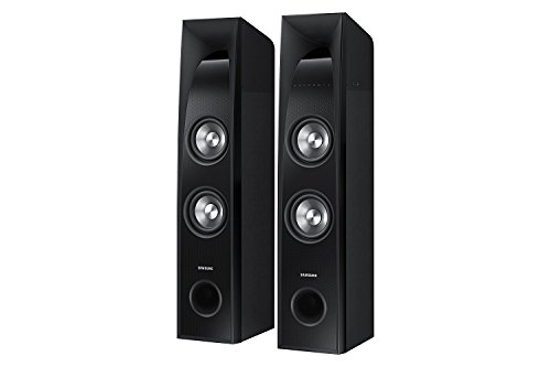 (Samsung TW-J5500-R 2.2 Channel Wireless Sound Towers with Built in Subwoofers, Black (Certified Refurbished))