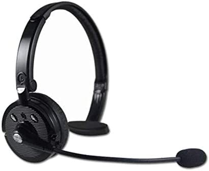 RENKUNDE ヘッドセットワイヤレスコンピュータヘッドセットブラック単純なゲームヘッドセット片面ヘッドフォンは、快適で通気性を着用します ゲーミングヘッドセット