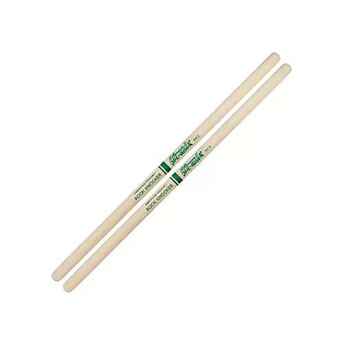 Custom Hickory Wood Tip Drumsticks (ProMark Hickory Rock Knocker Custom Wood Tip Drumsticks, TXRK-2W)