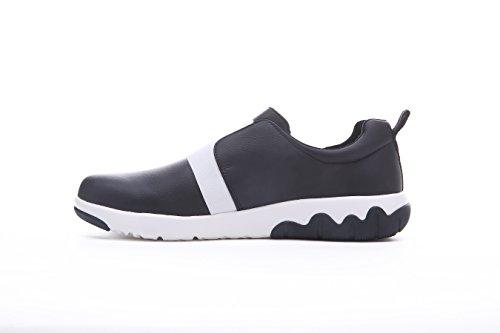 Uin Mens Guyana Mode Microfibre Chaussures De Marche Noir