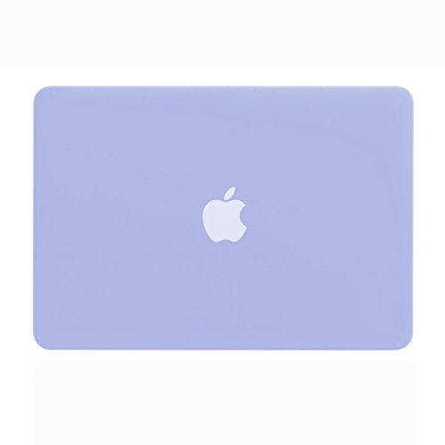 TOP CASE - Rubberized Hard Case Cover Compatible with Apple MacBook Air 13'' (A1369 and A1466) with TOP CASE Mouse Pad - Serenity Blue by TOP CASE (Image #4)
