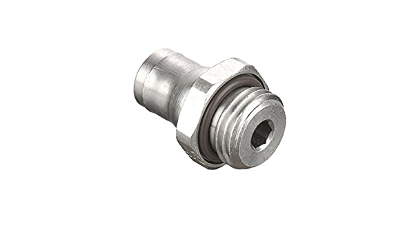 6 mm 10 mm Pack of 5 Push-to-Connect and Metric Connector Tube to Pipe Parker 68PLM-6M-M10-pk5 Prestolok PLM Metal Push-to-Connect Fitting Nickel Plated Brass