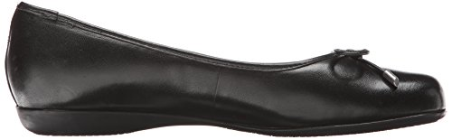 Leather Ballet Flat M Black Nappa Trotters Soft Black 6 US Women's Sante xwCqEPfS