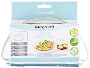 Kitchen Craft - Escalfador de Huevos para microondas y Molde para ...