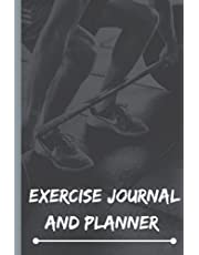 Exercise Journal and Planner: Fitness and nutrition notebook planner | exercise and nutrition planner