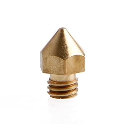 1/5X for 1.75mm 3D Printer 0.2 0.3 0.4 0.5mm MK8 Extruder Nozzle Print Head New from OTGO