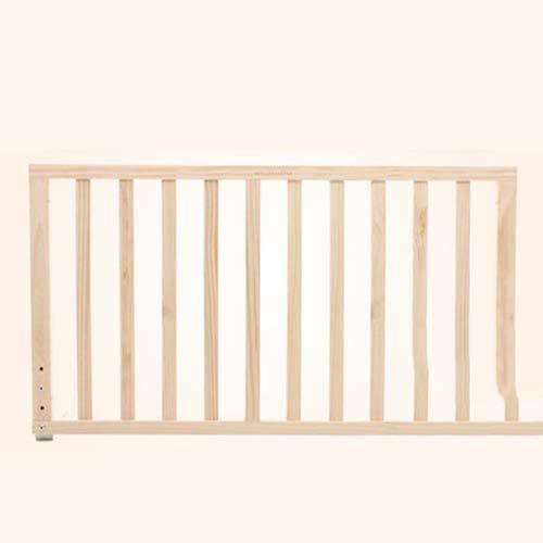 FLB Cama de bebé Madera Valla niños Cama Marco Dormitorio Muebles Seguridad Cuna barandilla bebé Romper-Resistente Valla...
