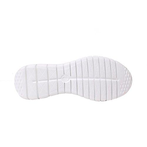 de pour baskets de Chaussures Tissu Chaussures chemin sport Flyer Sneakers femme Noir CqICwfE