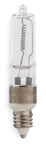 GE Halogen Light Bulb, T4, 250W