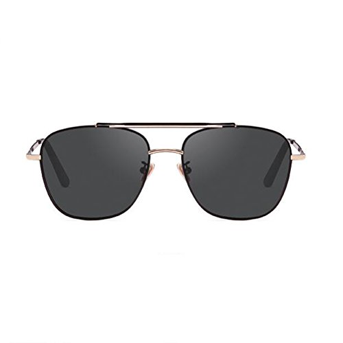 Gafas Grey polarizadas HD hombre sol segura Lente lenses Color de de Conducción visera retro para HONEY lenses Grey A61dqwA