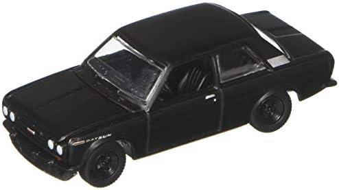 1968 Datsun 510 Greenlight 27950A 1:64 Die Cast Black Bandit Series 19