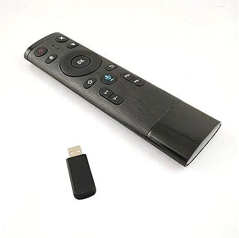 2.4GHz Wireless Voice Remote Control Air Mouse USB Receiver TV//HTPC//Desktop