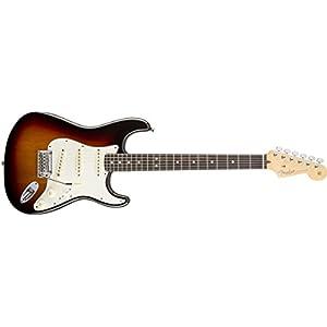 Fender 0113000700 American Standard Stratocaster Rosewood Fingerboard Electric Guitar – Sunburst