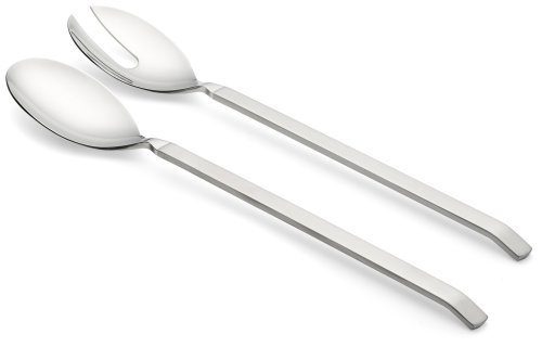 Alessi ''Dry'' Salad Set with Satin Handle by Alessi