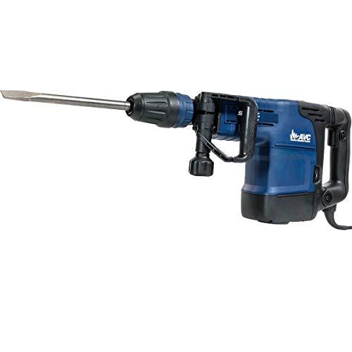 Stark Elite 1500W Demolition Jack Hammer Variable 6-Speed SDS-Max 2-Bits Concrete Drilling Drill Breaker Anit-Vibration w/Case