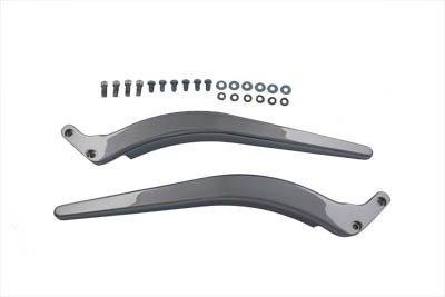 V-Twin 50-0583 Curved Fender Strut Set Chrome ()