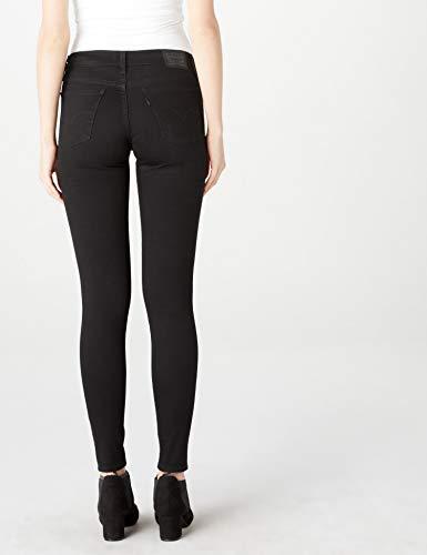 Woman Skinny Black 710 Secluded 32 Levi's Pants Echo Denim Super 31 qatU0O