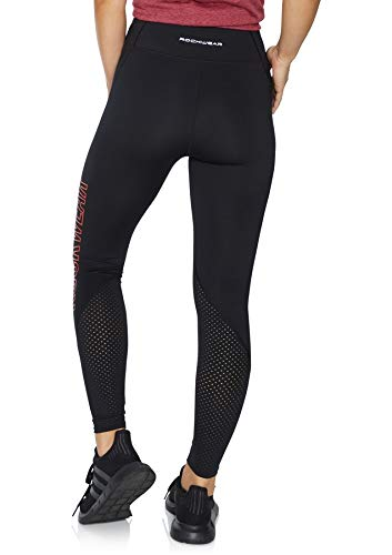 07f5403ec80ad Rockwear Activewear Women's Noosa Fl Perforated Logo Tight from Size 4-18  for High Bottoms Leggings + Yoga Pants+ Yoga Tights: Amazon.com.au: Fashion