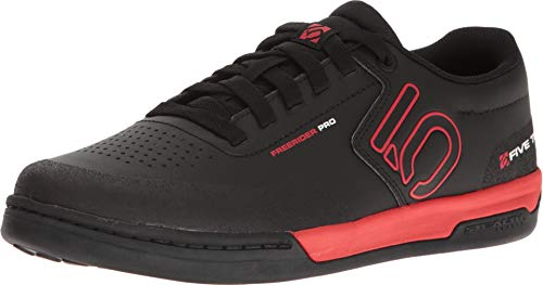 Five Ten Freerider Pro Mens Mountain Bike Shoe Black/Red/White, Size (Mountain Bike Shoe Reviews)