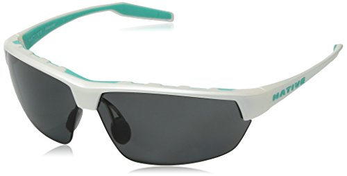 Native Eyewear Hardtop Ultra Sunglass, Pearl White, Gray -