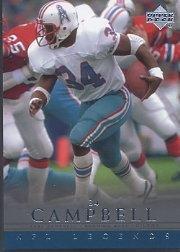 2000 Upper Deck Legends Football Card #25 Earl Campbell Near (2000 Upper Deck Legends Card)