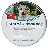 Dog Flea Treatment Collar - Seresto foresto 38CM FleaTick Collar Small Dogs UNDER 8kg(18LBS)