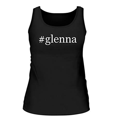 #Glenna - A Nice Hashtag Women's Tank Top, Black, Large