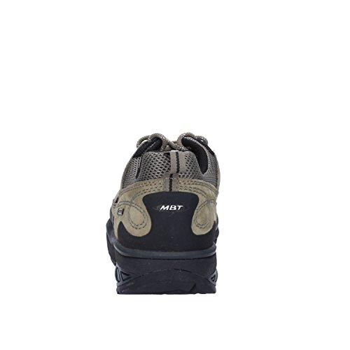 MBT Sneakers Damen Grün Grau Textil Veloursleder (37 EU)