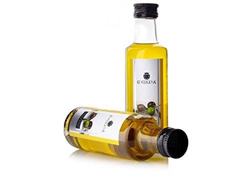 aceite de oliva virgen extra en botella de cristal de 100 ml ...