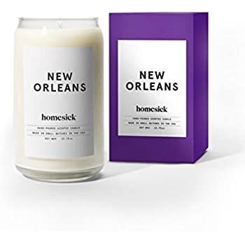 Homesick HSCA1-NOL-WH01 New Orleans Candle