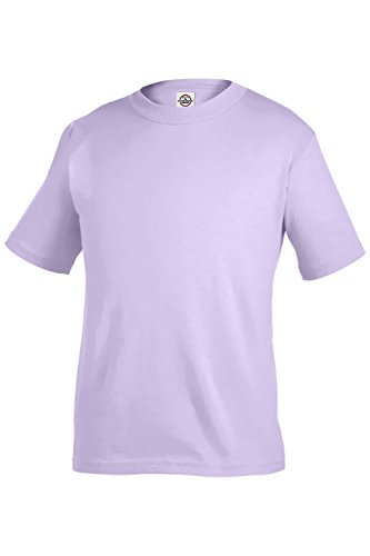 Delta Apparel Toddler Little Boys or Girls Plain Basic T- Shirt (2T, (Little Kids Lavender Apparel)