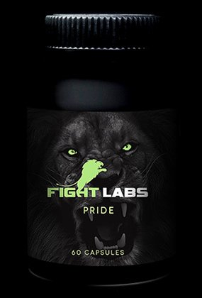 PRIDE Natural Testosterone & Anabolic Support by Fight Labs. Combines 3 products only available in Eastern Europe!