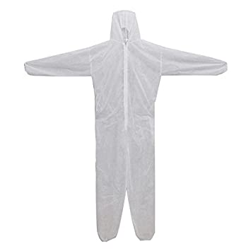 Takestop® Juego de 3 piezas, traje desechable monouso multifunción ...