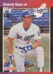 Amazoncom 1989 Donruss Baseball Card 84 Steve Sax Mint