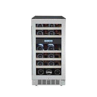 23 Bottle Dual Zone Built-In Wine Refrigerator