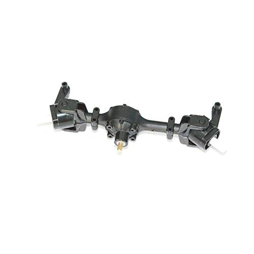 Hisoul for WPL FY001 1:16 RC Military Car Front Axle Fittings Metal Gear Sturdy Front Axle Assembly Spare Part (A)