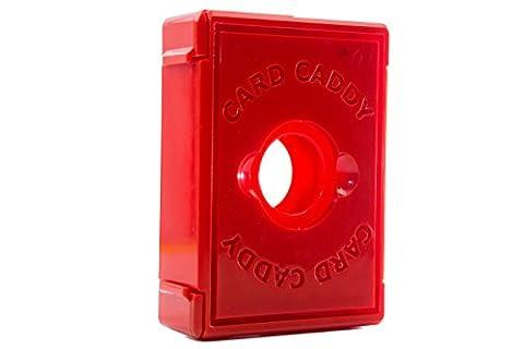 Card Caddy Single Decker-Red - Double Deck Card Box