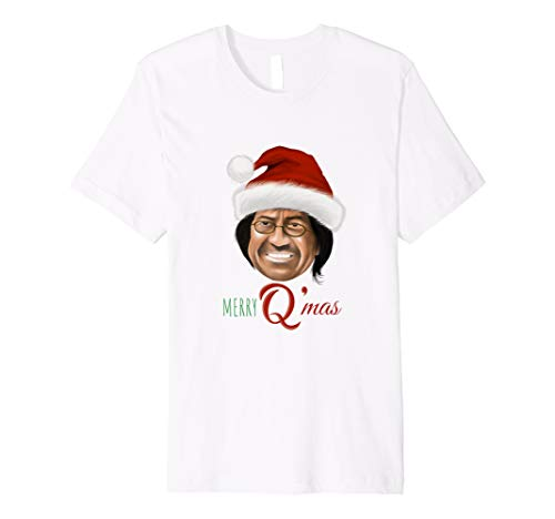 Merry Q'mas Holiday Christmas Q Anon Fusca T-shirt ()